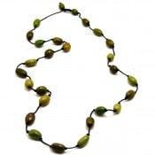 Olive Strand Necklace