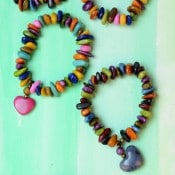 Suspended Heart Bracelet