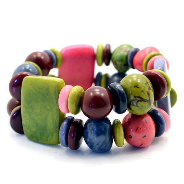 Multi Plaque Bracelet