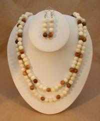 Tagua Pearl Set
