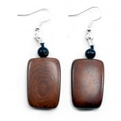 Tagua Multi Plaque Earrings