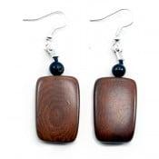 Tagua Multi Plaque Earrings