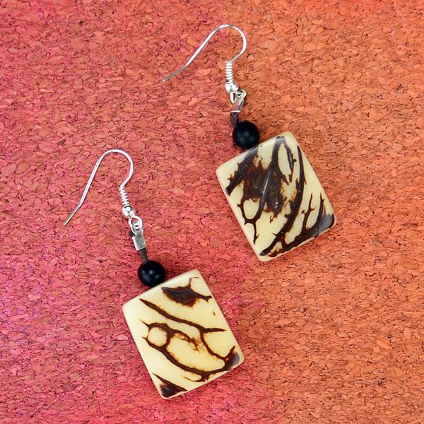 Natural Plaque Earring