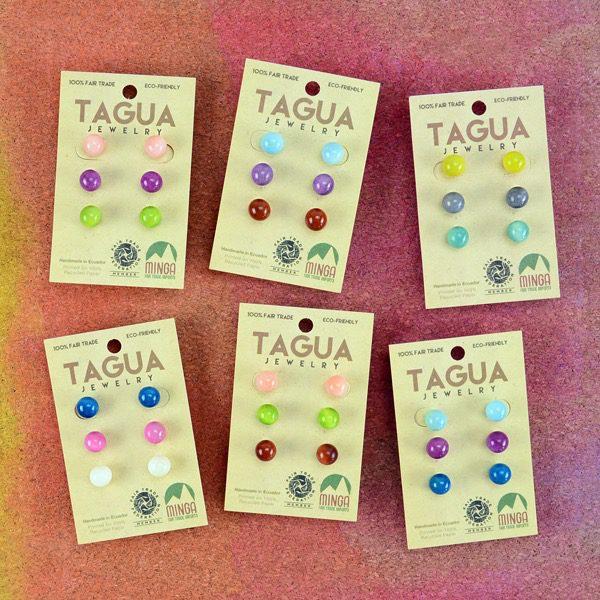 Tagua Stud Trio