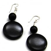 Disc V Earrings