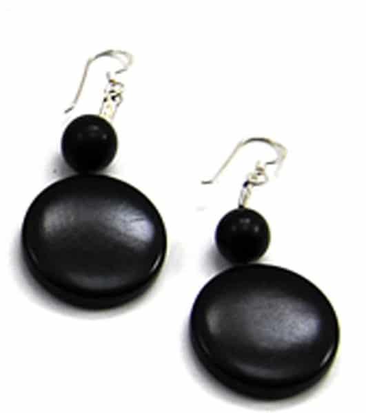 Disc V Earrings