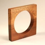 Square Wooden Bangle