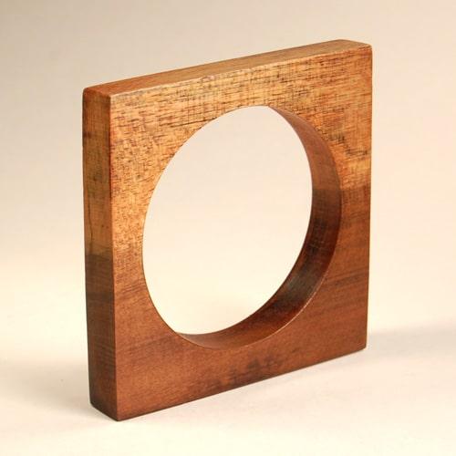Square Wooden Bangle