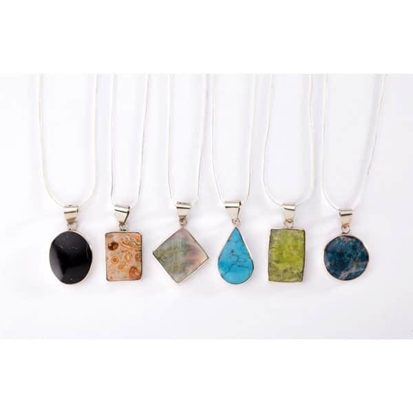 Stone Solo Necklace