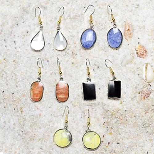 Stone Solo Earrings