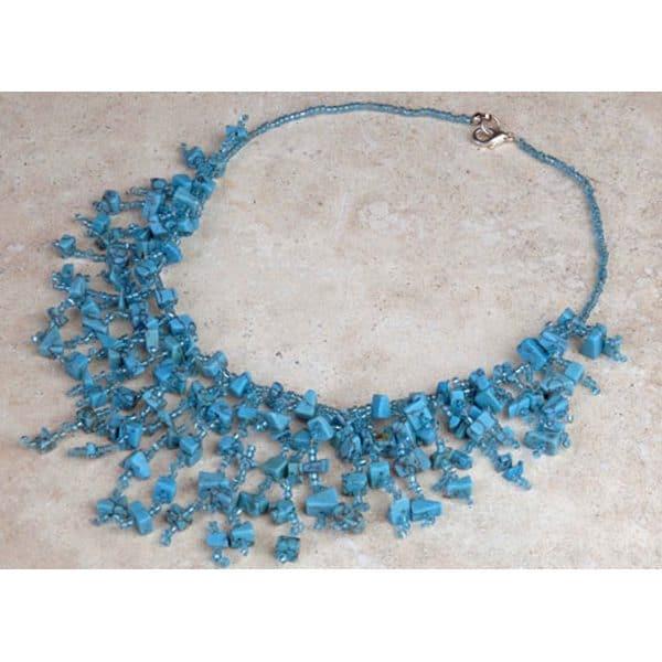 Abundant Stone Necklace