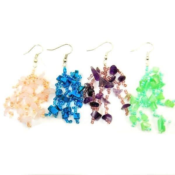 Abundant Stone Earrings