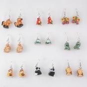 Ceramic Critter Earrings