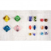 Art Glass Stud Earrings