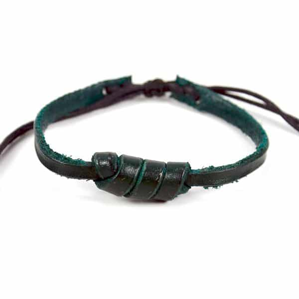 Leather Love Knot Bracelet