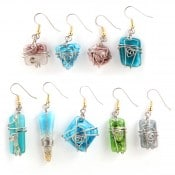 Art Glass Earrings