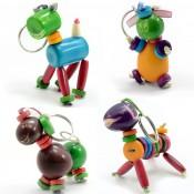 Puppy Keychain