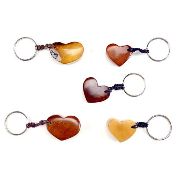 Heart Keychain (Set of 5)