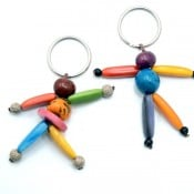 Ecology Man/Woman Keychain