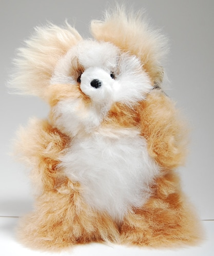 Alpaca Teddy Bear - S