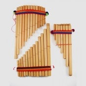 Bamboo Pan Flute - L