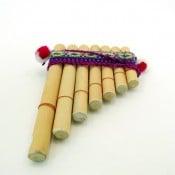 Bamboo Pan Flute - XS