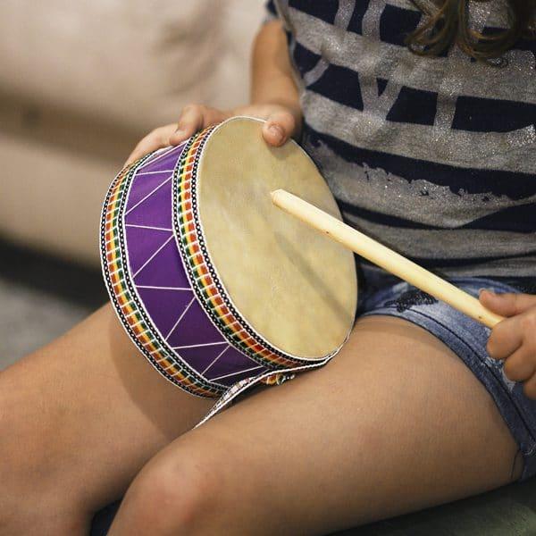 Drum with Striker - 16 x 8