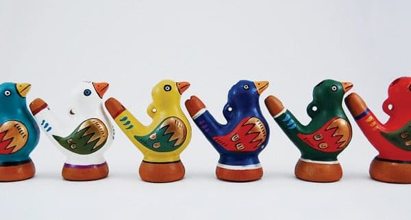 Ceramic Bird Whistle