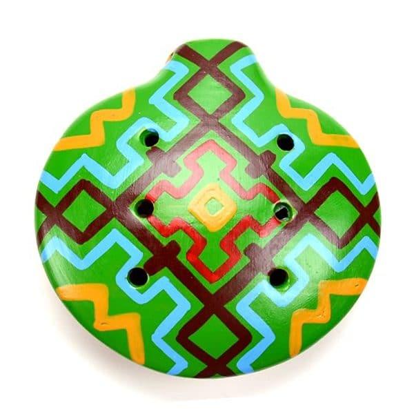 Ceramic Ocarina - L