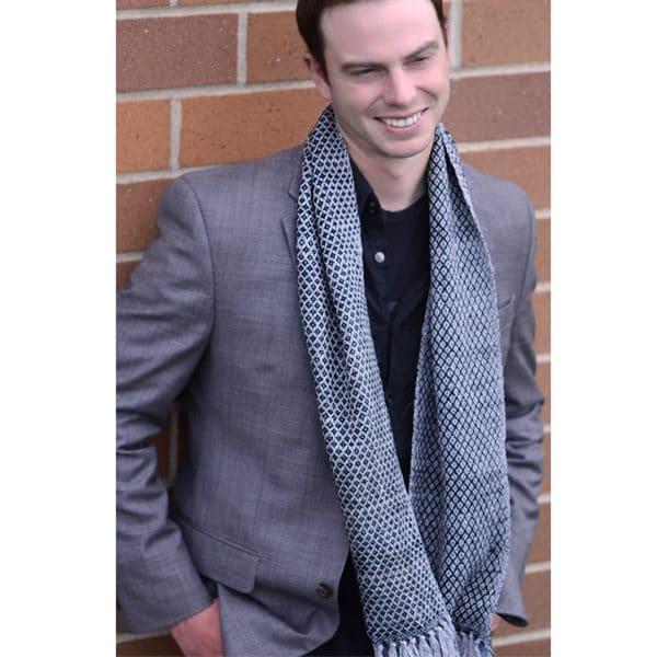 Diamond Knit Scarf