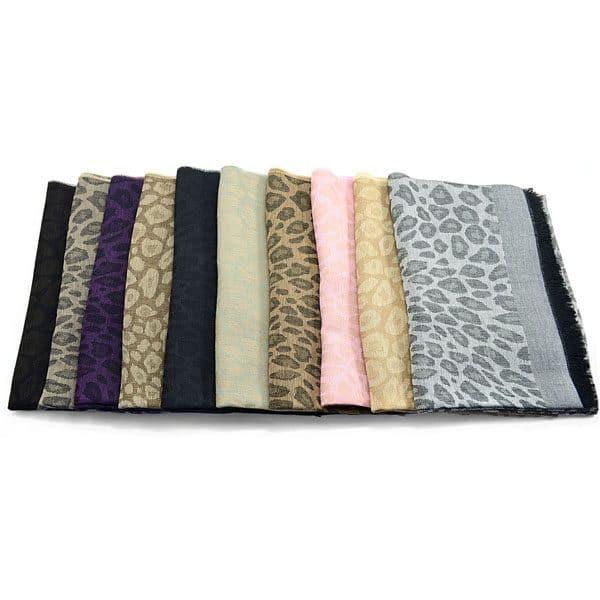 Luxe Leopard Wrap