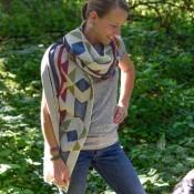 Tribal Blanket Scarf