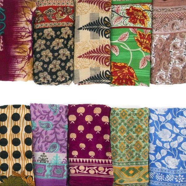 Cotton Sari Scarf