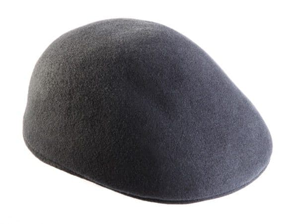 Felted Wool Flat Cap