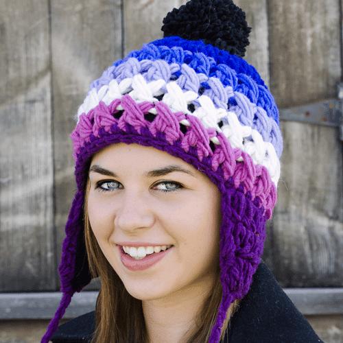 Prism Earflap Hat