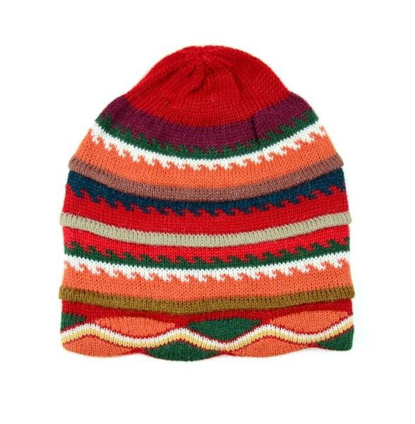 Patterned Alpacrylic Hat