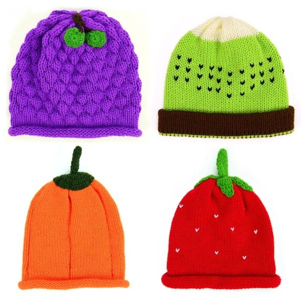 Knit Food Hat