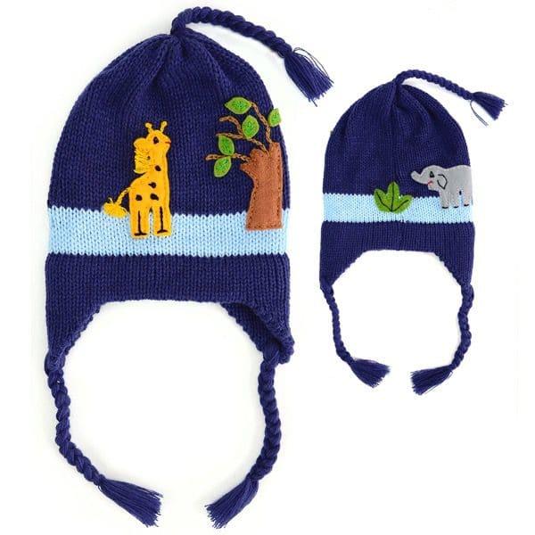 Appliqué Earflap Hat