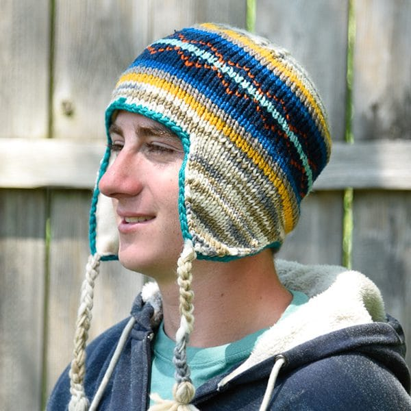 Adult Lined Earflap Hat