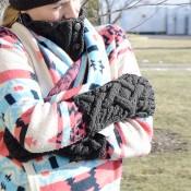 Heirloom Knit Armwarmers