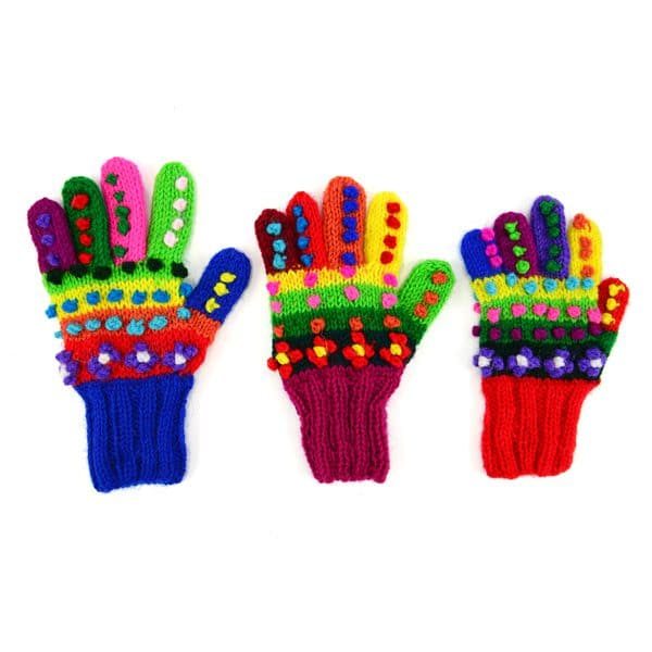 Kid's Mosaic Gloves
