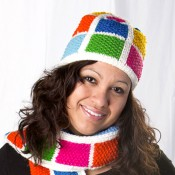 Color Block Hat