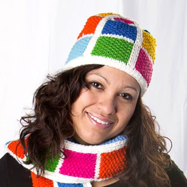 Color Block Hat