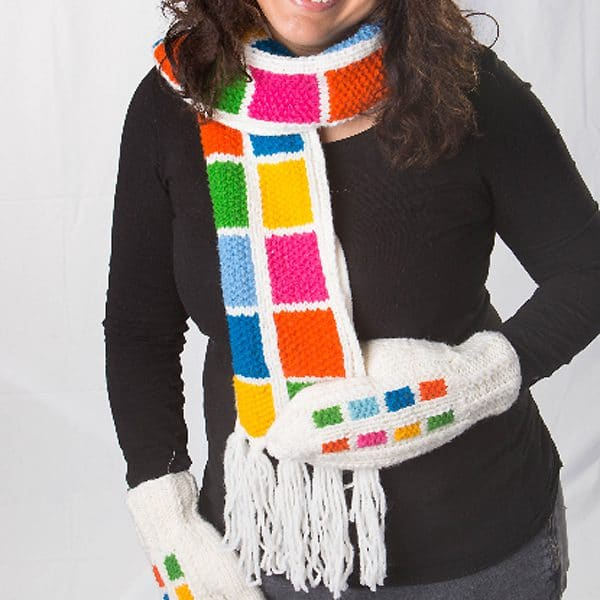 Color Block Scarf