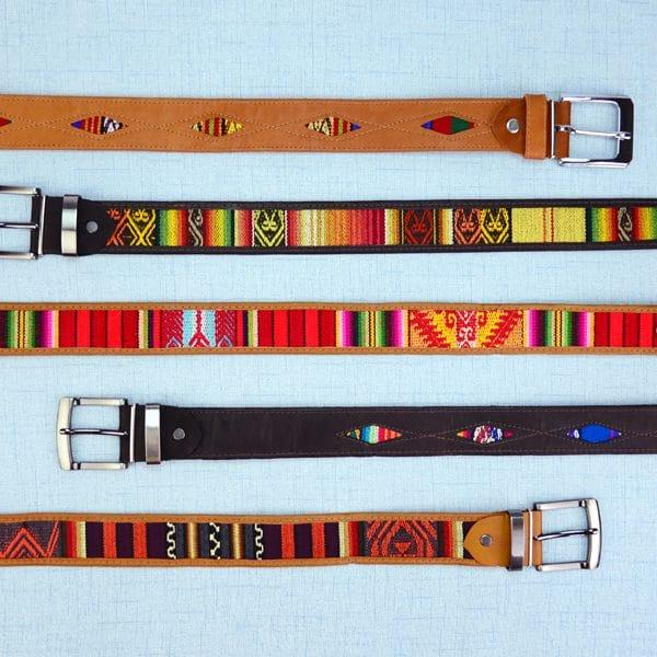 Incan Belt, Heavy Buckle