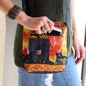 Kantha Crossbody Bag