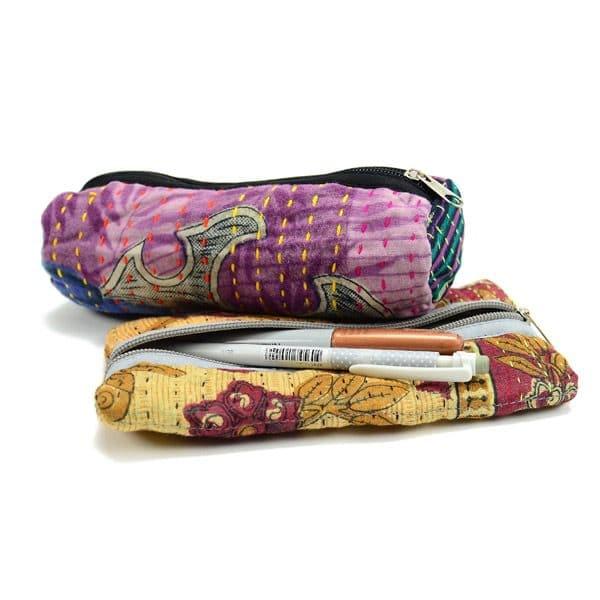 Kantha Pen Pouch