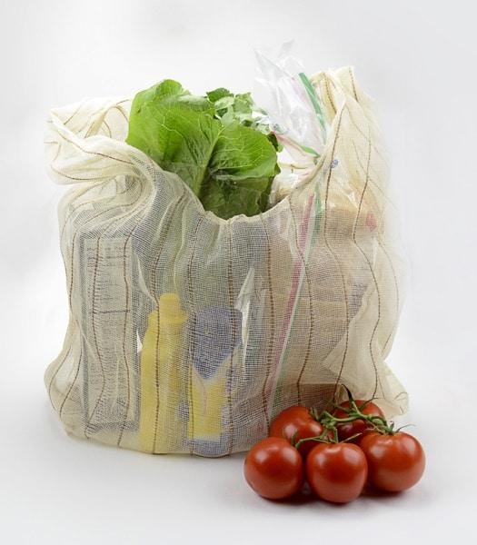 Foldaway Jute & Cotton Bag