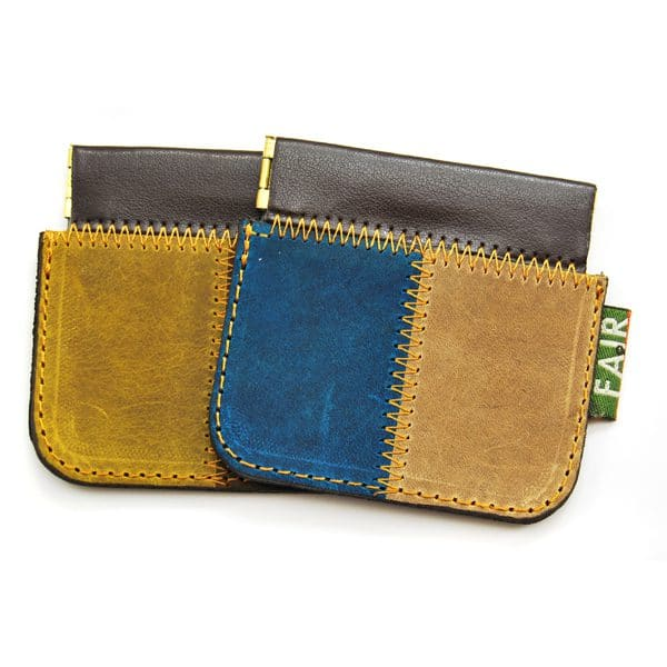 Suede Squeeze Pouch