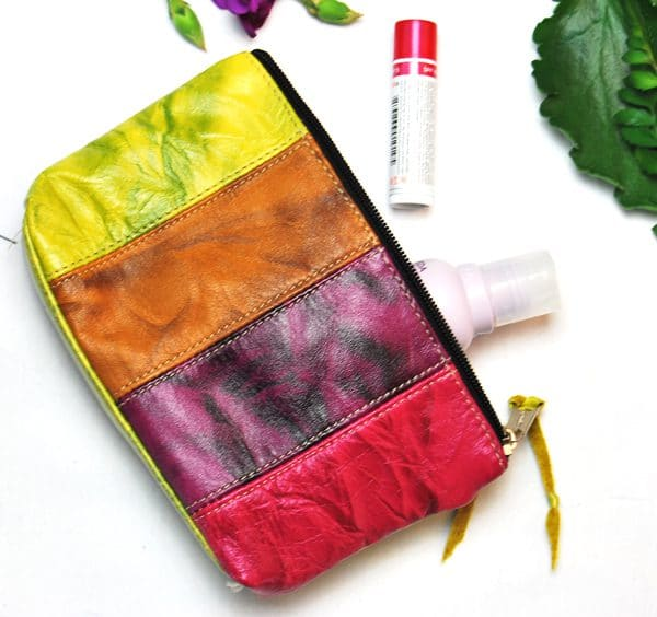 Leather Cosmetic Purse